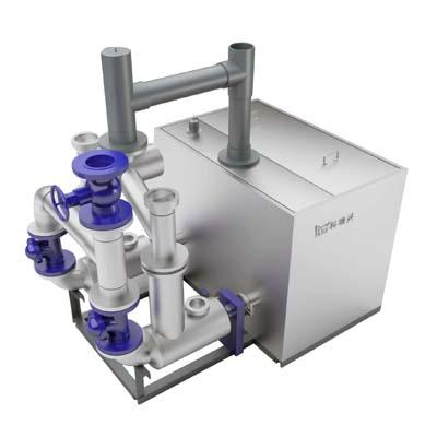 科瑞興污水提升設備雙泵內置式